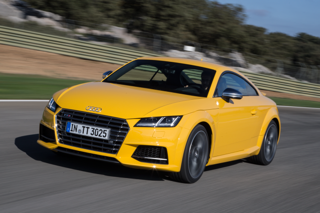 La Audi TT... (Photo fournie par Audi)