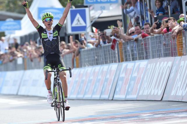 L'Italien Davide Formoloa signé sa première victoire chez... (Photo Daniel Dal Zennaro, AP)