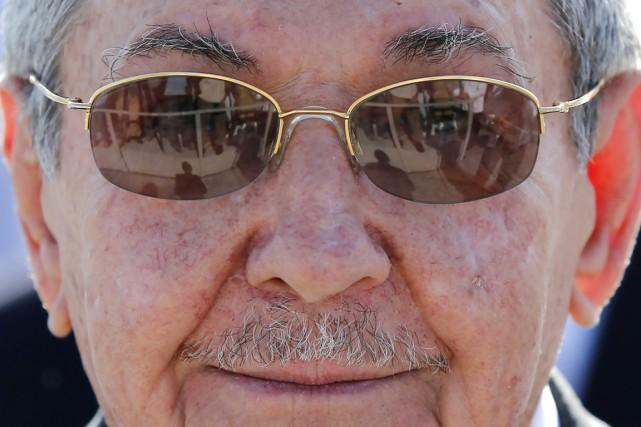 Le président cubain Raúl Castro.... (PHOTO DESMOND BOYLAN, ARCHIVES AP)