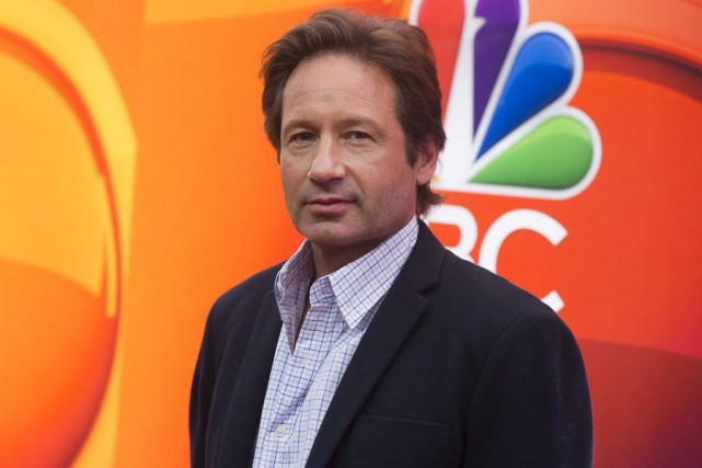 David Duchovny... (Photo: AP)