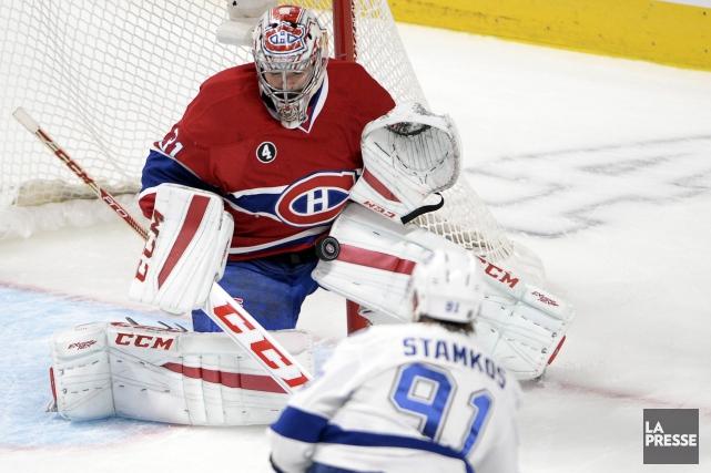 Steven Stamkos jouerait contre le Canadien de Montréal... (Archives, La Presse)
