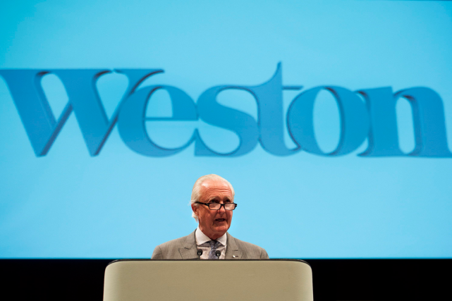 W. Galen Weston, président du conseil émérite de... (Photo Nathan Denette, PC)