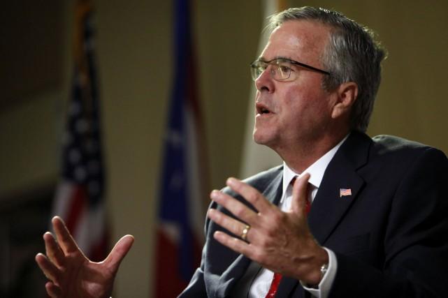 Jeb Bush est l'ex-gouverneur de Floride et le... (Photo Ricardo Arduengo, AP)