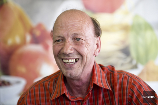 Le directeur général de la Fête du chocolat... (Photo archives La Voix de l'Est)