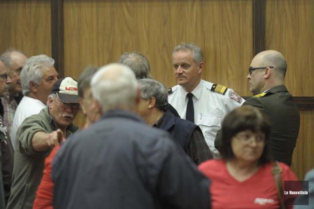 Le maire de Shawinigan avait demandé au directeur... (Photo: Sylvain Mayer, Le Nouvelliste)