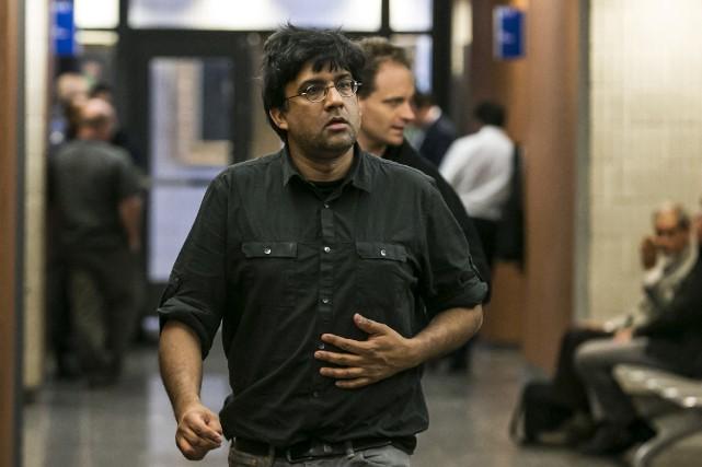 Jaggi Singh réclame 140 000$ en dommages à... (PHOTO HUGO-SÉBASTIEN AUBERT, LA PRESSE)