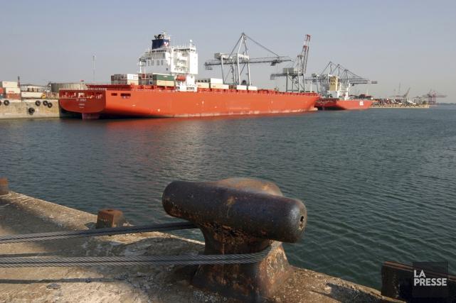 L'objectif est d'éliminer la congestion dans les ports... (PHOTO ARCHIVES LA PRESSE)