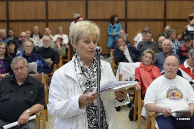Lise Landry, ex-mairesse de Shawinigan, a effectué un... (Photo: Sylvain Mayer, Le Nouvelliste)
