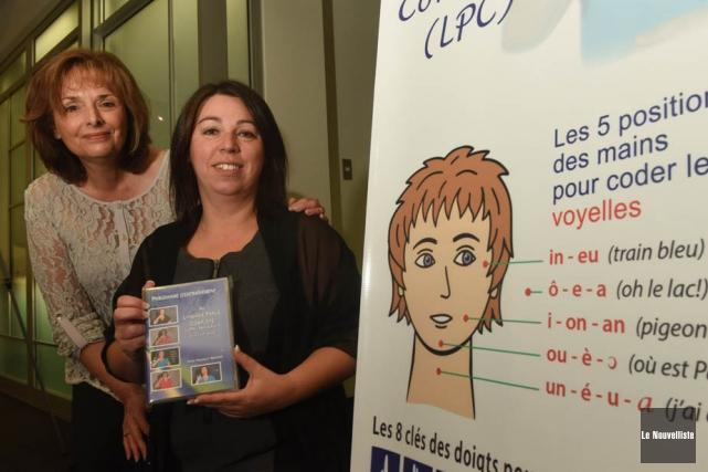 À gauche, Carole Bélanger, directrice de l'APMM et... (Photo: François Gervais, Le Nouvelliste)