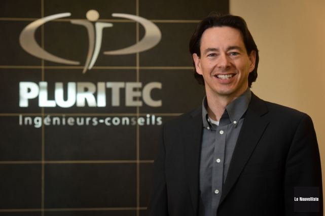 Le directeur général de Pluritec, Jonathan Duguay, est... (Photo: François Gervais, Le Nouvelliste)