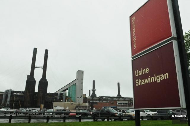 L'ancienne usine de Rio Tinto Alcan à Shawinigan.... (Photo: François Gervais, Le Nouvelliste)