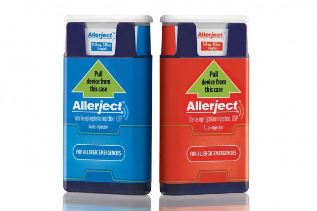 Allerject est un auto-injecteur muni d'un dispositif vocal... (PHOTO FOURNIE PARSANOFI CANADA)
