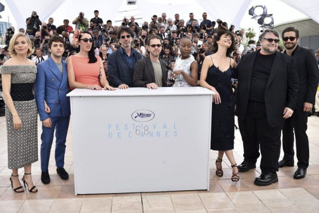 Sienna Miller, Xavier Dolan, Rossy de Palma, Joel... (Photo: AFP)