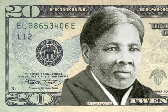 Harriet Tubman, une esclave qui est parvenue à... (IMAGE WOMEN ON 20S/AFP)