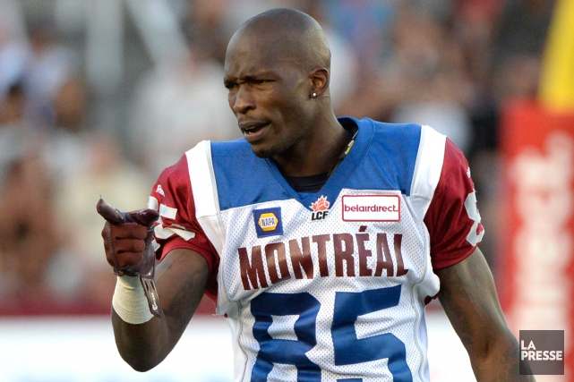 Chad Johnson n'a capté que sept passes pour 151... (Photo Bernard Brault, archives La Presse)