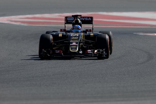 Jolyon Palmer, pilote de réserve avec l'écurie Lotus.... (Photo Josep Lago, archives AFP)