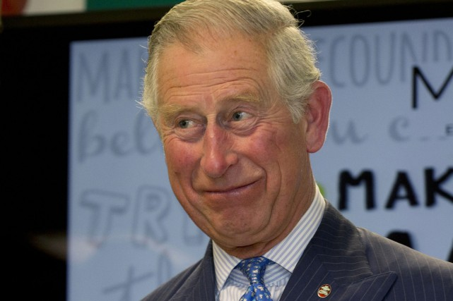 Le prince Charles à Londres, le 13 mai.... (PHOTO ALISTAIR GRANT, AP)
