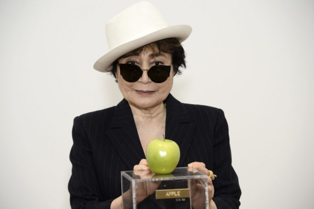 L'entrée de l'exposition Yoko Ono, One Woman Show... (Photo: AFP)