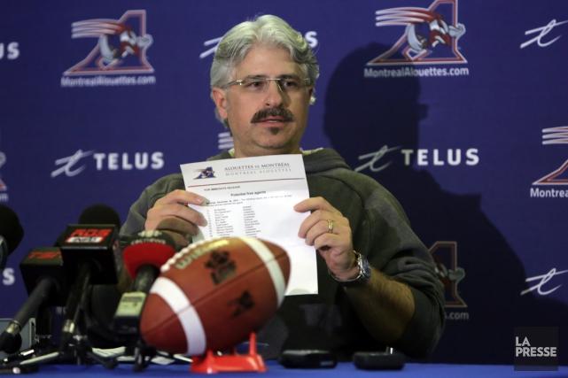 Le directeur général des Alouettes de Montréal, Jim... (Photo Martin Chamberland, archives La Presse)