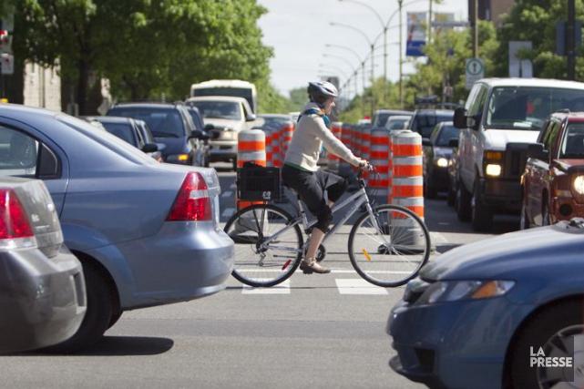 L'étude conclut que l'impact des voitures sur l'économie... (Photothèque, La Presse)