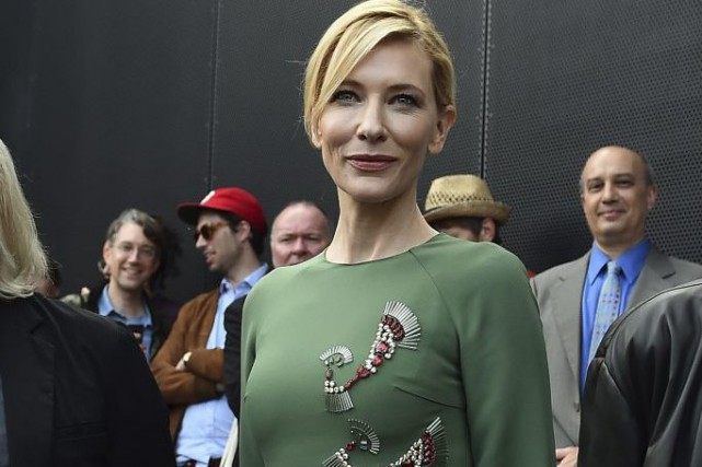 Cate Blanchett à Sydney.... (Photo: AFP)