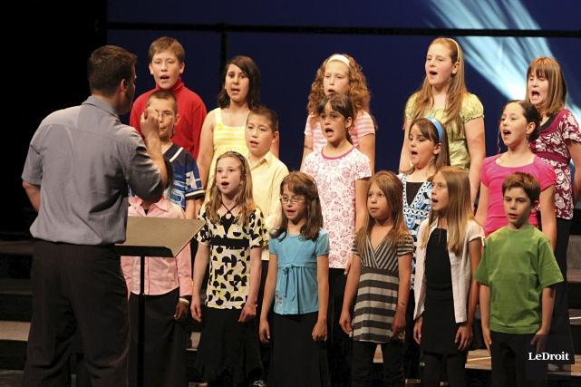 Les Choralies réunissent chaque année quelque 1500 jeunes... (Patrick Woodbury, archives LeDroit)