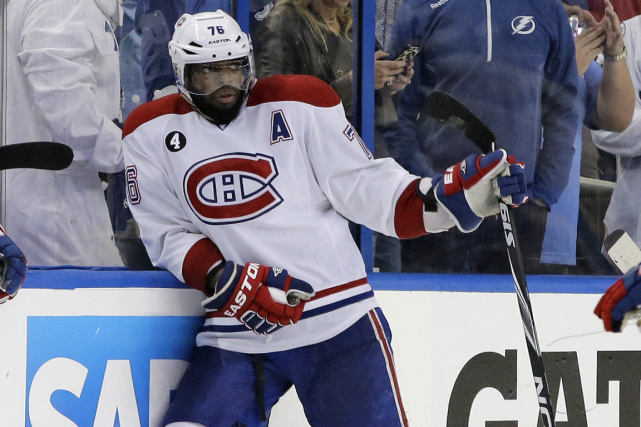 P.K. Subban a admis qu'il nourrissait de bien plus... (Photo Chris O'Meara, AP)