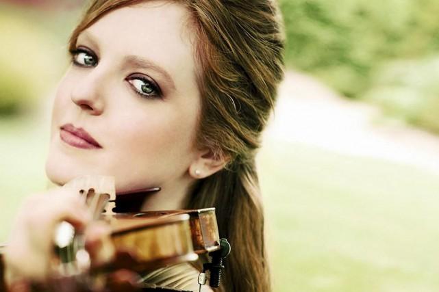La violoniste Rachel Barton jouera avec l'OSQ au... (Photo fournie par l'OSQ)