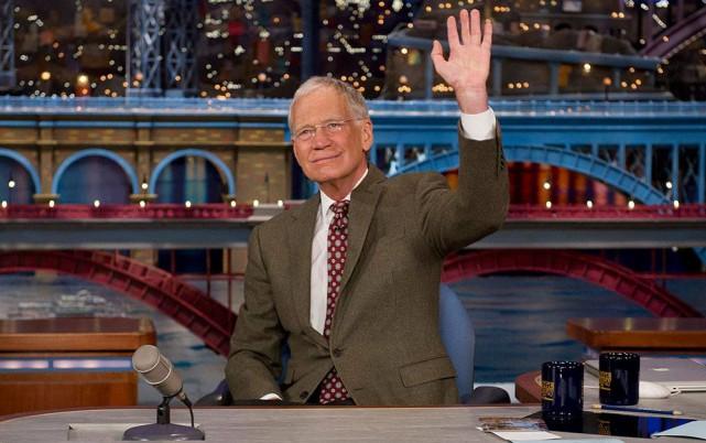 David Letterman quittera l'antenne le 20mai après 33années... (Photo tirée de Facebook)