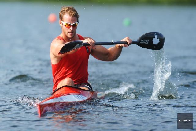 Philippe Duchesneau, kayakiste sherbrookois.... (Archives, La Tribune)