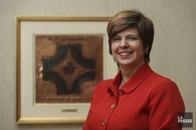 Lucie Tremblay, presidente de l'Ordre des infirmieres et... (La Presse, Martin Chamberland)