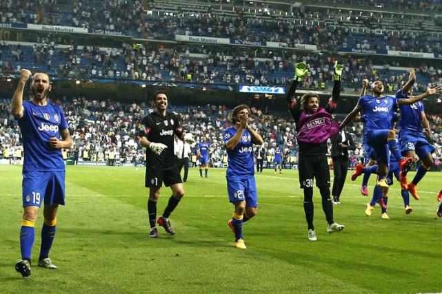 Douze ans après, la Juventus Turin a «refait le coup» au Real Madrid en se... (Photo: AP)