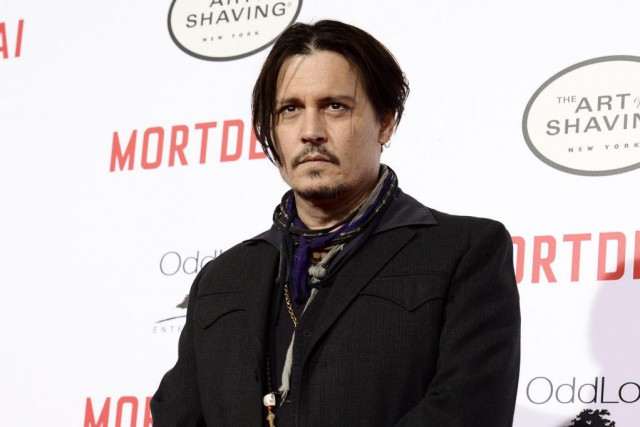 Johnny Depp, qui incarne le personnage du capitaine Jack... (Photo Dan Steinberg/Invision, AP)