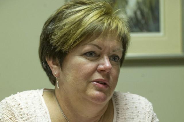 Andrée Guillemette, présidente du SIIIACQ du Coeur-du-Québec.... (Photo: Stéphane Lessard, Le Nouvelliste)