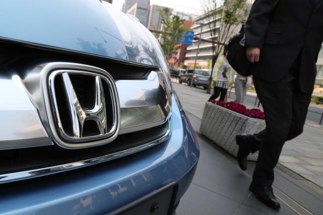 Le troisième constructeur japonais d'automobiles, Honda, a annoncé jeudi le... (Photo Koji Sasahara, archives AP)