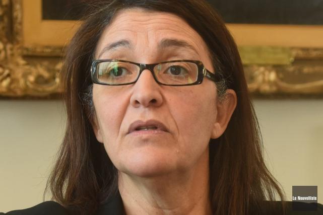 La rectrice Nadia Gazzhali au coeur de la... (Photo: François Gervais, Le Nouvelliste)