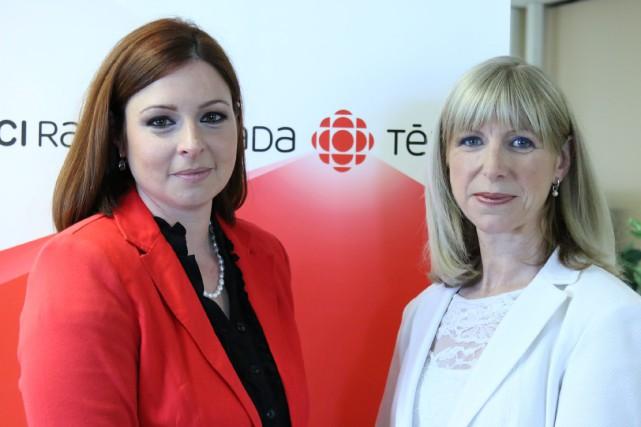 Les nouvelles animatrices d'Enquête, Marie-Maude Denis etIsabelle Richer,... (ICI Radio-Canada télé)