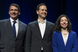 Les actuels candidats à la chefferie du PQ,... (PHOTO ARCHIVES LA PRESSE CANADIENNE)