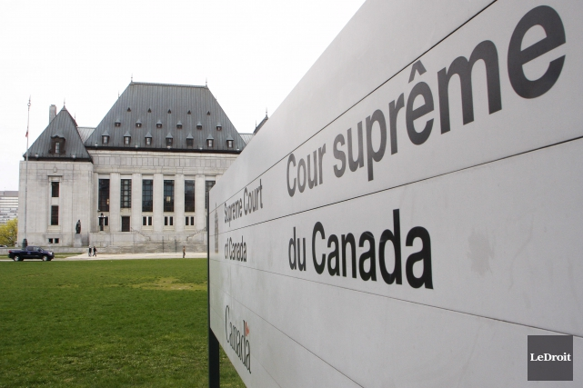 Les juges de la Cour suprême ont tranché... (Archives, LeDroit)