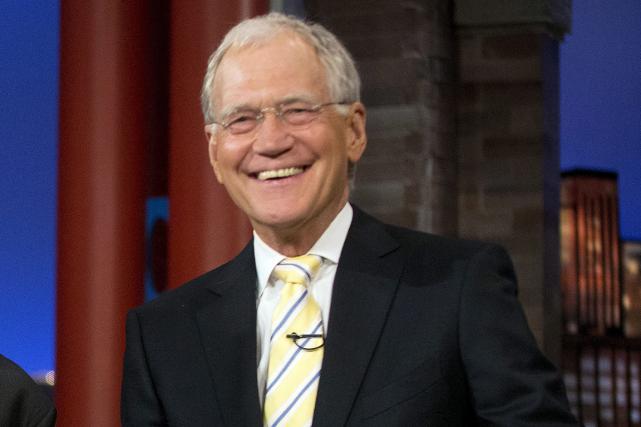 David Letterman s'apprête à prendre sa retraite après... (Photo Pablo Martinez Monsivais, AP)