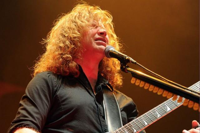Mené par le chanteur et guitariste Dave Mustaine,...