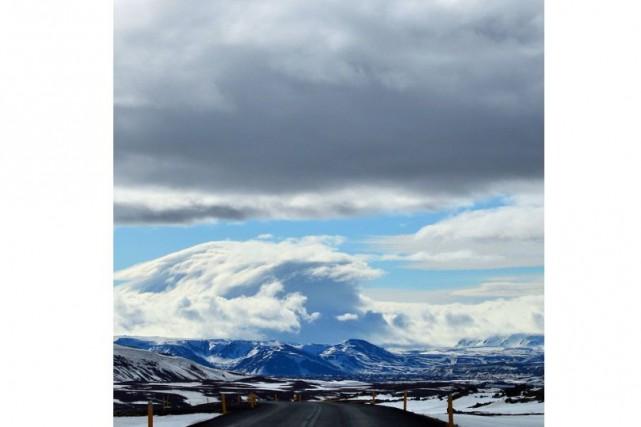 Félicitations à @aline_diegas, dont la vague nuageuse dans le ciel de l'Islande... (@aline_diegas)