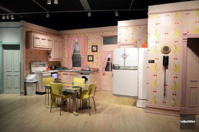 L'exposition La Petite Vie, présentée jusqu'en janvier à... ((Photo Le Quotidien, Jeannot Lévesque))