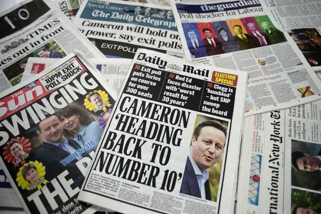 Le British Polling Council a annoncé la tenue... (PHOTO DANIEL SORABJI, AGENCE FRANCE-PRESSE)