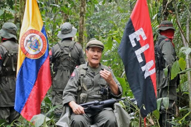 Le dirigeant suprêmede l'Armée de libération nationale, Nicolas... (Photo: Reuters)