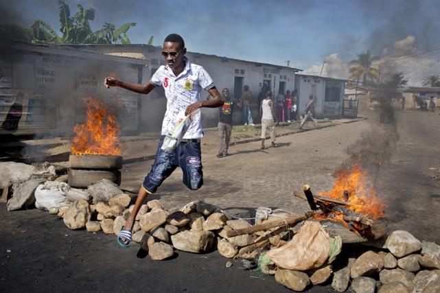 Le numéro deux du mouvement putschiste au Burundi, le général Cyrille... (Photo: AP)