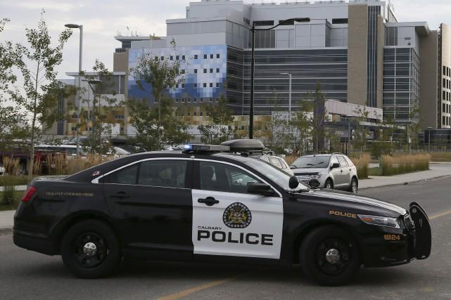 La police de Calgary a accusé un homme pour avoir crié des obscénités à... (PHOTO ARCHIVES LA PRESSE CANADIENNE)