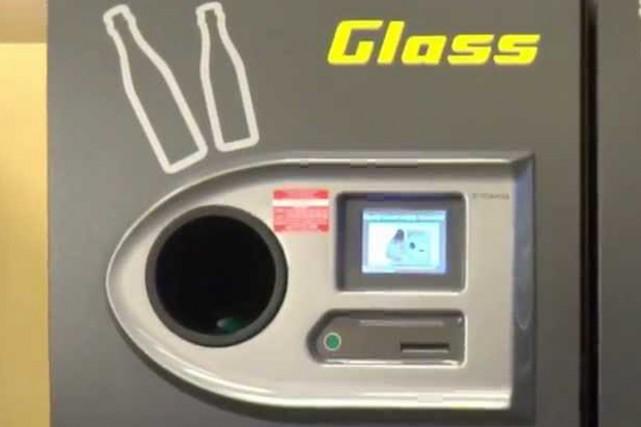 Les nouvelles récupératrices automatisées de verre sont déjà... (PHOTO FOURNIE PAR TOMRA)