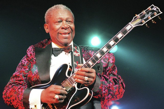 B.B. King... (ARCHIVES AGENCE FRANCE-PRESSE)