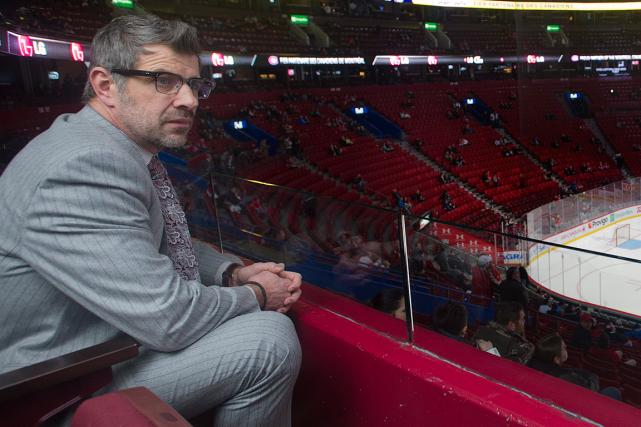 Le directeur général du Canadien Marc Bergevin ne... (Photo Graham Hughes, PC)